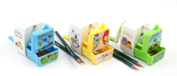 school stationery kids pencil sharpener