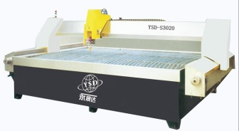 YSD-S3020 CNC waterjet cutting machine - YSD-S3020