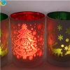 laser glass candle holders - YF0226