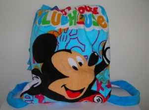 100% cotton printing beach towel bag - 003