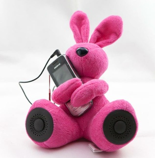 New designed plush toy with soundbox