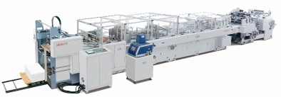 Automatic sheet fed paper bag making machine