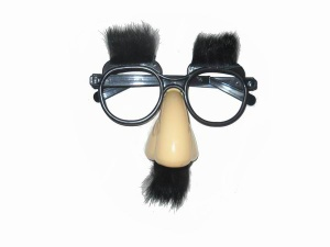 Plastic Glasses Toy With Rabbit Hair - STP-202846