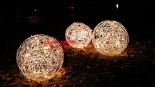 LED Outdoor Lights Handmade Aluminum Wire - Outdoorball D40