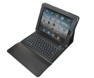 for ipad wireless bluetooth keyboard with silicone case - ZT-LY15A