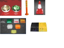 Road Stud, Speed Hump, Traffic Cone, High Visibility Vests, Traffic Warning Light - Road Stud, Speed Hum