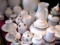 pottery,vases ashtrays,dishes,bols