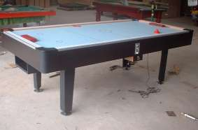 hockey table with coin -operate system - coin -operate