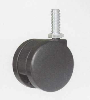 75mm twin-wheel furniture caster - 75mm twin-wheel