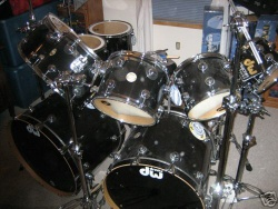 BRAND NEW Dw Drum Set