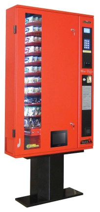 Slim Line Multipurpose Snack Vending Machine