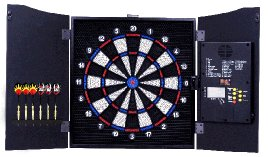 Electronic Dartboard-Cabinet-LCD display - #9731C