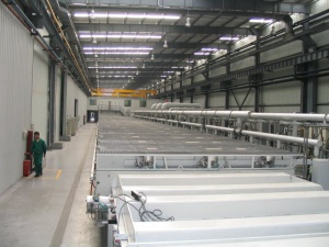 DC, FM Sputter coating line for Low-E glass - 841417