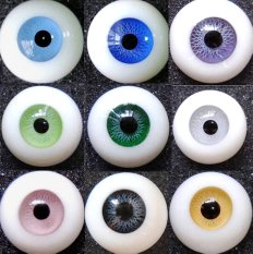 doll eye - paperweight glass eyes