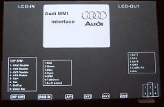 AUDI Multimedia interface - Car multimedia inter