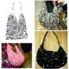 sequin handbag, squama handbag, gift bag - sequin handbag