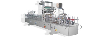 machine for wrapping (lamination) for window and door profiles and panels - LM300, SCM701, HABM