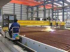 CNC flame/plasma cutting machine - Kmper