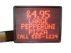 7X80 RGB Full Color LED Displays - RGB displays
