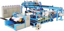 plastic extruding coating machine