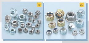 Stainless Steel Hex Nut / Flange Nut - Stainless Steel Nut