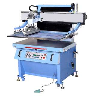 large flat Vacuum screen printer