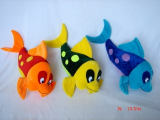 Plush Fish - QC05276