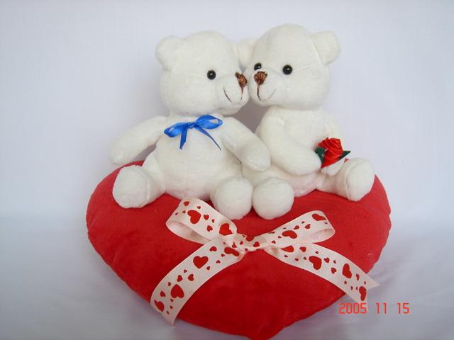 Valentine Bear. Product ID: QC05155. Valentine Bear