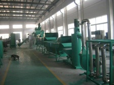 PET Bottle Flakes Crushing Washing & Recycling Plant