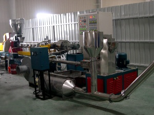 PP,PE, PVC, PET Waste Scraps Pelletizing & Recycling Plant