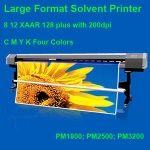 Large Format Solvent Printer - 1002