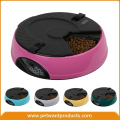 6 meal LCD automatic pet feeder - PF-18