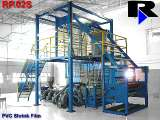 PVC Shrink Film Extrusion Plant - RP60S