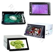 6.2 or 6.5 or 7 Inch Touch screen TFT LCD Monitor Car DVD Player