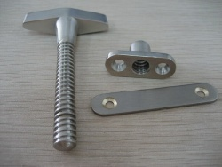 brass thumbscrews - screws