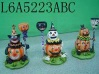 Halloween candle holder - L6A5223A/B/C