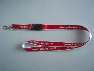 screen printing lanyard with satin