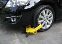 car wheel clamp