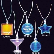 Various flashing acrylic necklaces for bar,pub,party,festival
