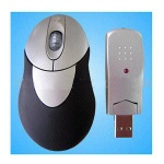 2.4G wireless remote rf optical mouse - wm101