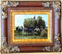 Fine Arts( Landscape Oil Paintings With Oil Paintings Frames)
