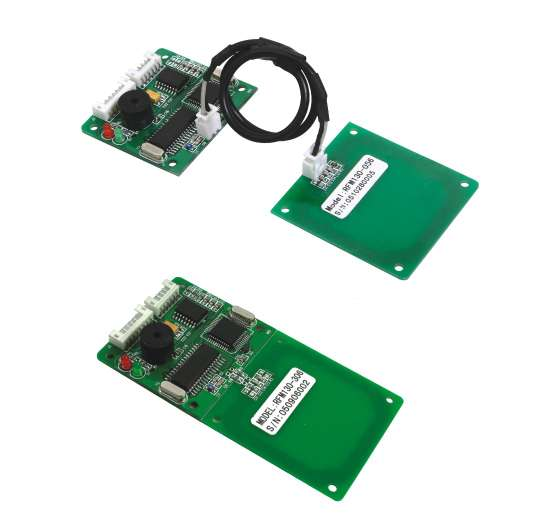 Magnetic card reader module