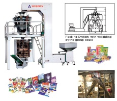 Auto Vertical Weighing and packaging machine