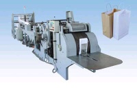 chemical packing plastic paper bag making machine equipment