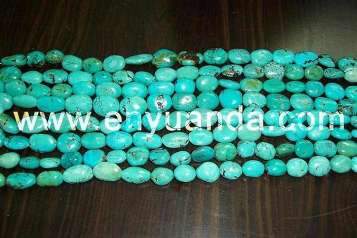 Turquoise oval beads - YD10/YD31