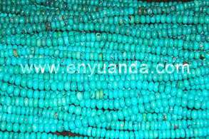 Turquoise abacus beads - YD07/YD26