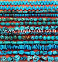 Turquoise beads - YD01