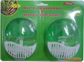 toilet bowl cleaner and air freshener - gt021a