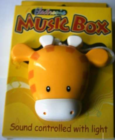 Music IC sound control box, MP3 player, CPU cooler