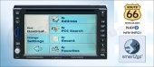 6.2-Inch Double-DIN touch screen Monitor with DVD-GPS-TV/AM/FM/Amplifier